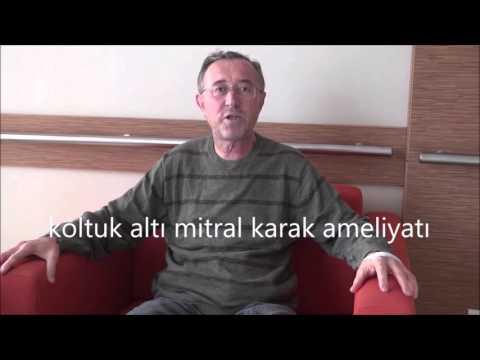 Koltuk Altından Mitral Kapak Ameliyatı – Op.Dr. Mahmut Akyıldız